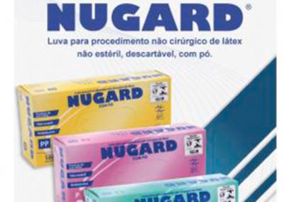 Luvas de Procedimento NUGARD – não cirúrgica, látex, com pó