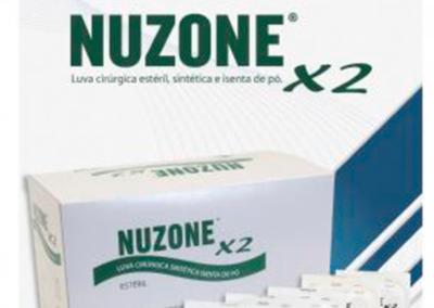 Luvas cirúrgicas NUZONE X2 – estéreis, sintéticas, isentas de pó