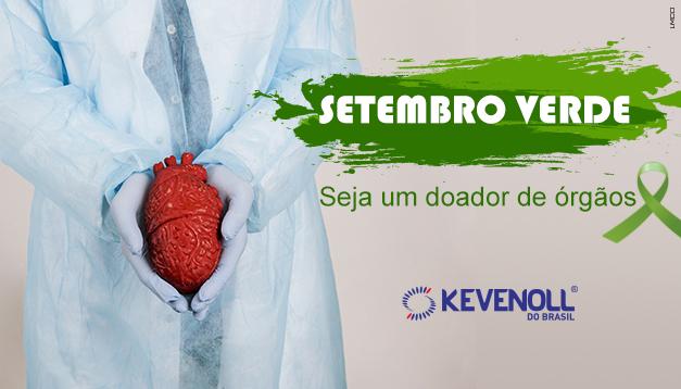 Setembro Verde – Seja um doador de órgãos.